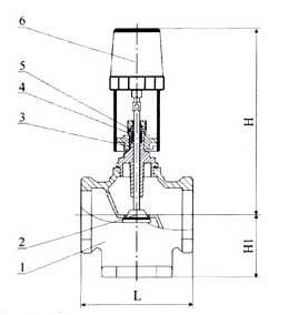 螺纹连接电动阀_中科自控阀门有限公司图片